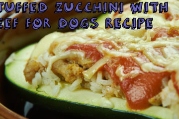Stuffed Zucchini with Beef For Dogs Recipe
