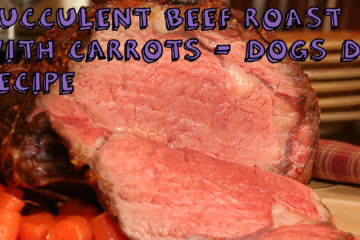 Succulent Beef Roast With Carrots – Dogs DIY Recipe