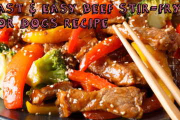 Fast & Easy Beef Stir-fry for Dogs Recipe